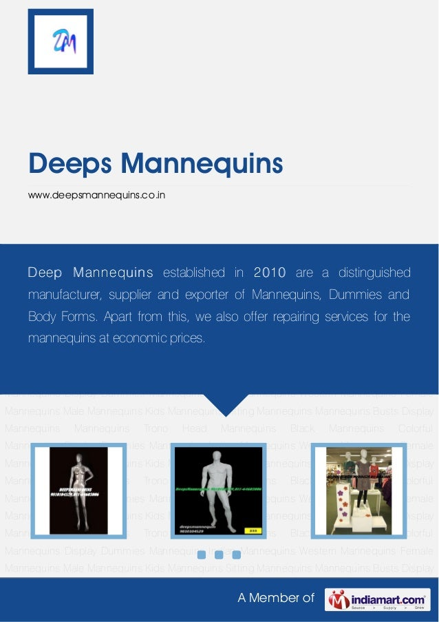 Styles Female Mannequins by Deeps mannequins(1)