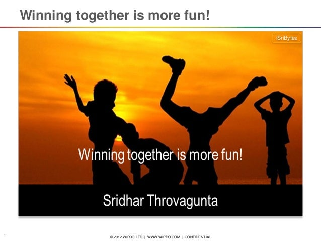 iSriBytes: Winning together is more fun!