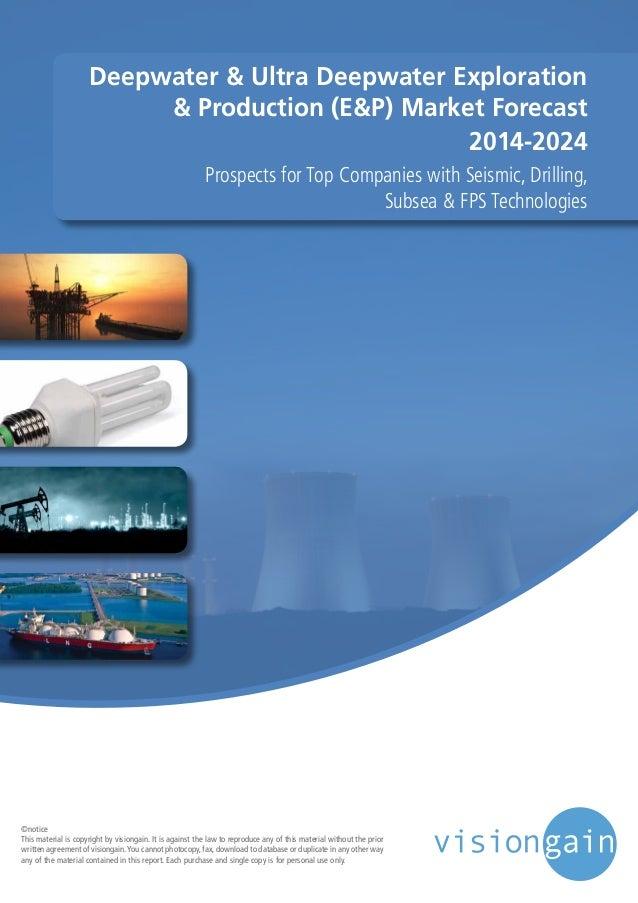 Deepwater & Ultra Deepwater Exploration & Production (E&P) Market 2014-2024