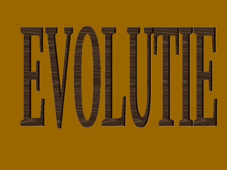 De Evolutieleer 2
