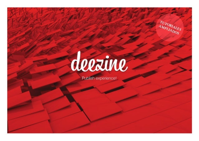 Manual de uso Deezine