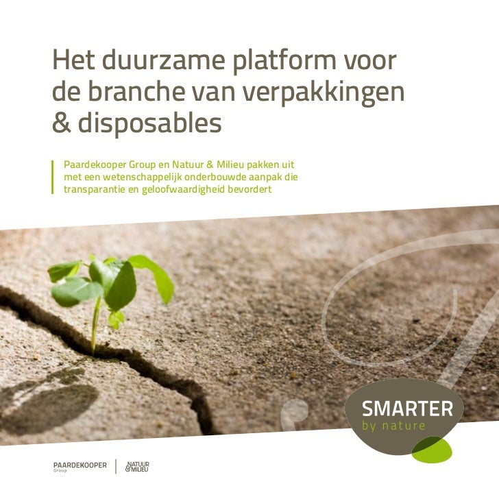 Smarter by Nature brochure