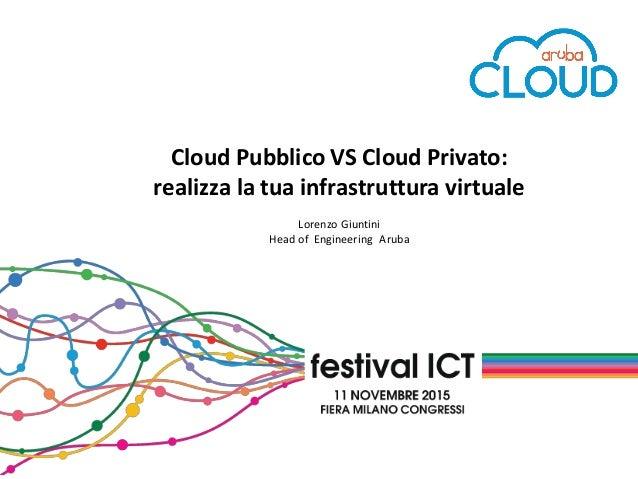 Cloud pubblico vs cloud privato realizza la tua for Realizza la tua cucina