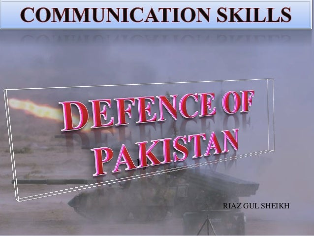 Defence of pakistan