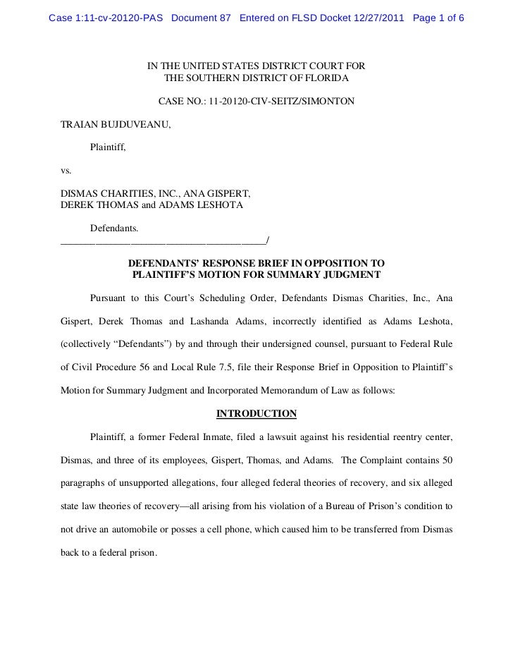 Case 1:11-cv-20120-PAS Document 87 Entered on FLSD Docket 12/27/2011 Page 1 of 6                         IN THE UNITED STA...