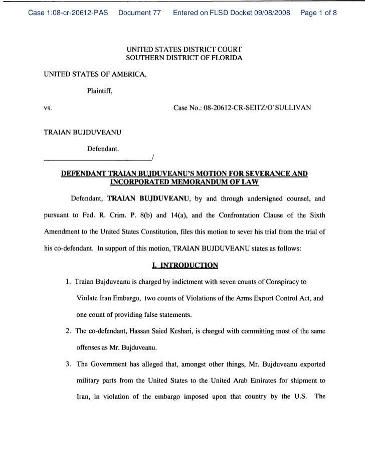 Case 1:08-cr-20612-PAS   Document 77   Entered on FLSD Docket 09/08/2008   Page 1 of 8