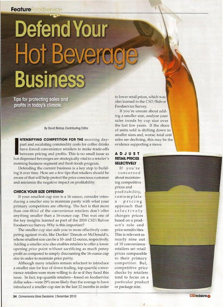 Defend your hot beverage business