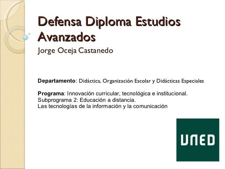 Defensa Diploma Estudios Avanzados Back