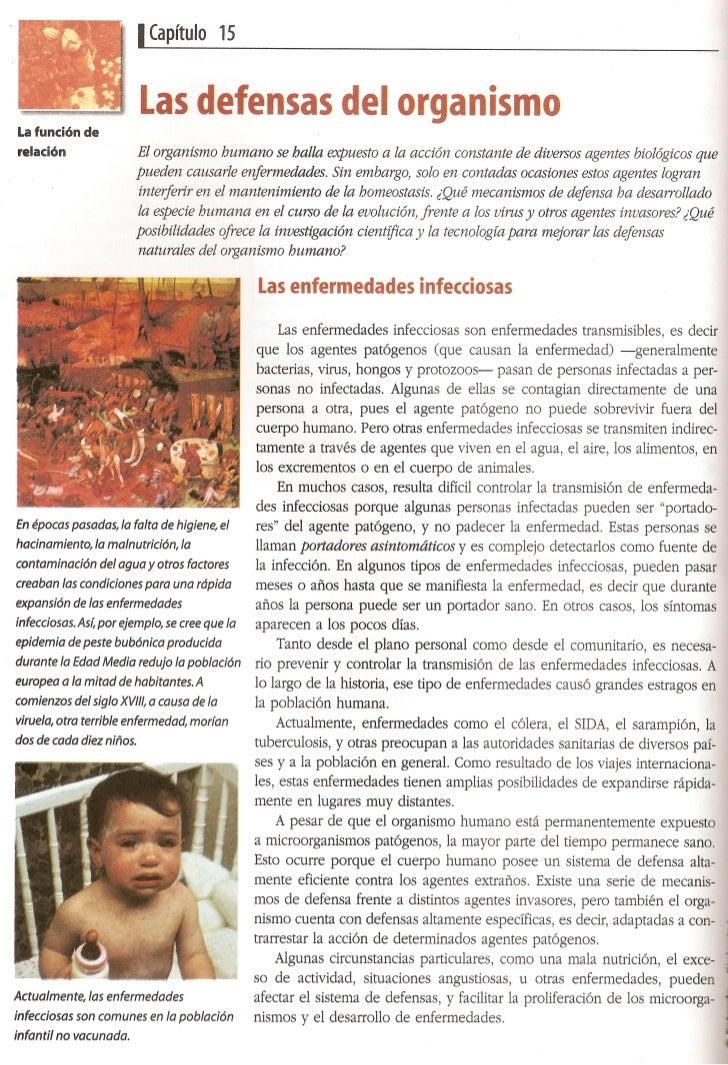 Defensas corporales e inmunidad