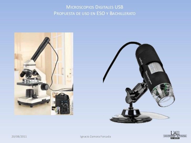Defensa Microscopios Digitales USB