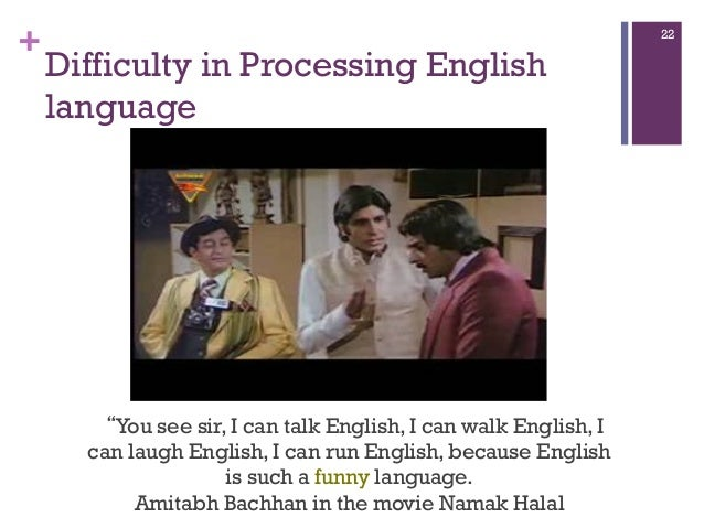 Masters thesis language