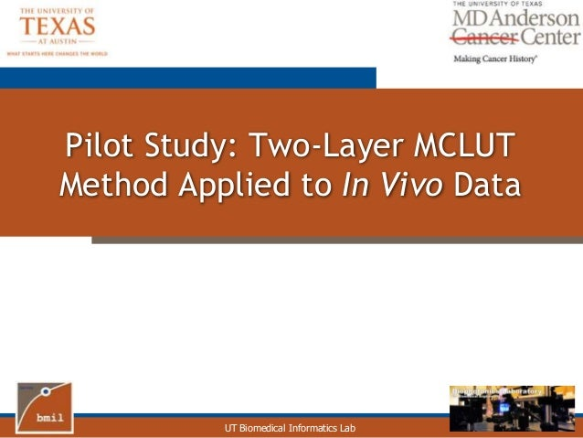 Dissertation pilot study