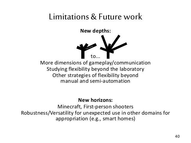 Dissertation future work