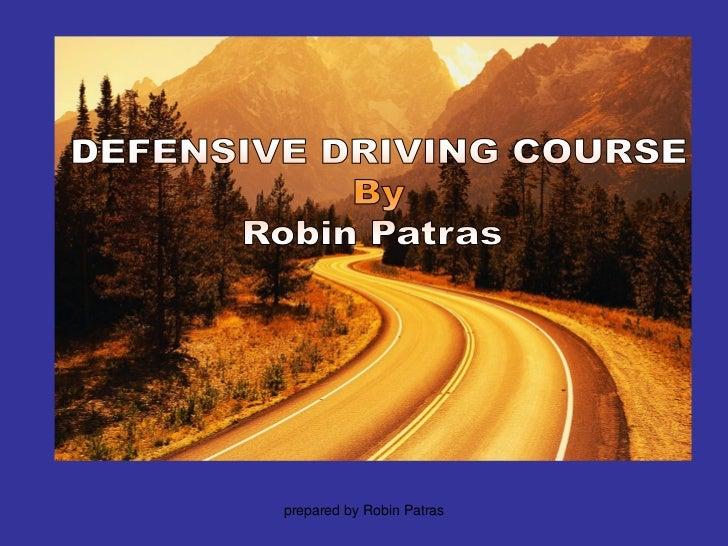 prepared by Robin Patras