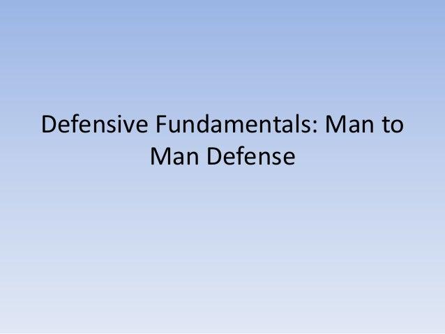 Defensive fundamentals