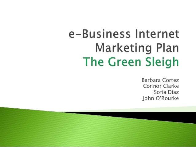 Green Sleigh_e-Business project
