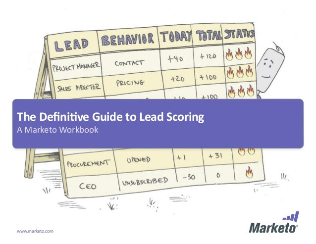 The Definitive Guide to Lead ScoringA Marketo Workbookwww.marketo.com