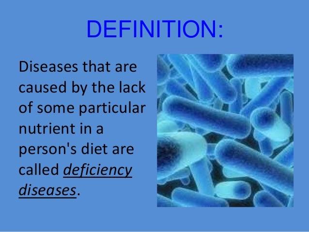 deficiency disease essay