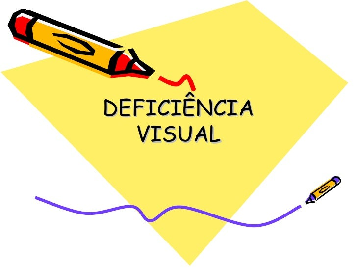 Deficiencia visual artigo