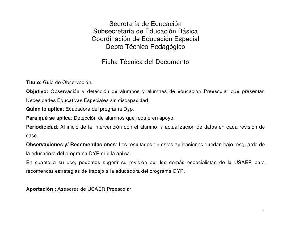 Secretaría de Educación                            Subsecretaría de Educación Básica                            Coordinaci...
