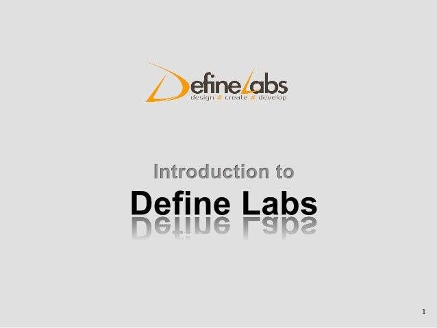 Define Labs :  Portfolio / Projects / Our work