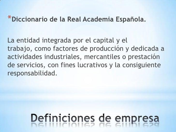 Definicion de empresa - photo#20
