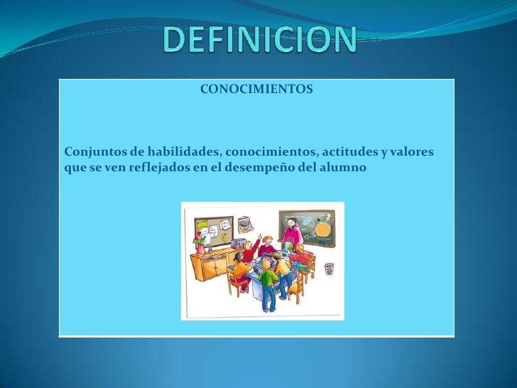Definicion (CUADRO DE COMPETENCIAS)
