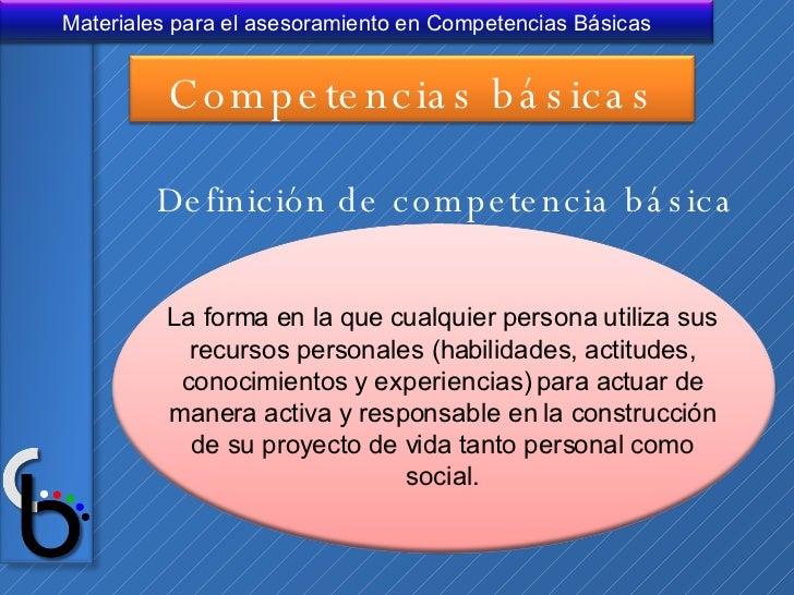 Resultado de imagen de competencias basicas definicion