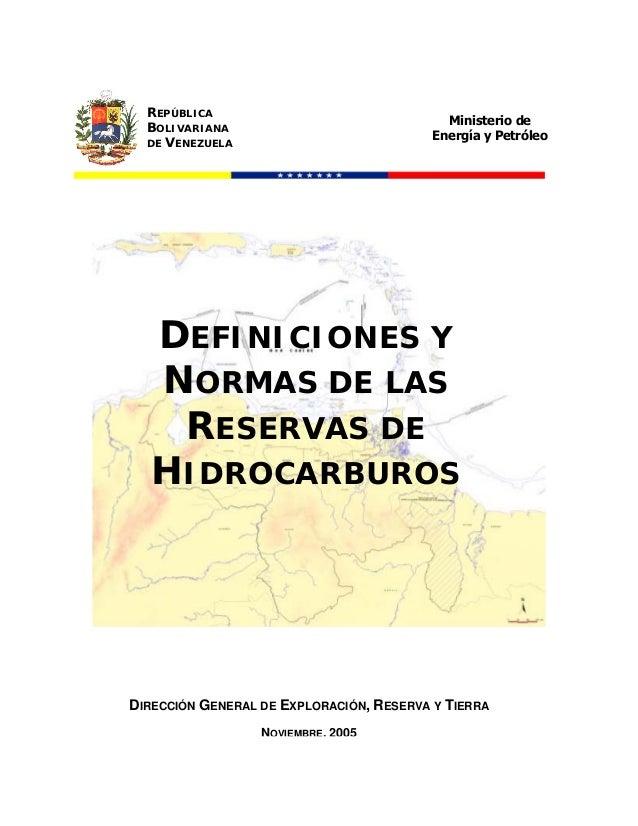 REPÚBLICA                                            Ministerio de  BOLIVARIANA                                          E...