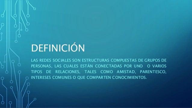 Definicion y caracteristicas de las redes sociales for Origen y definicion de oficina