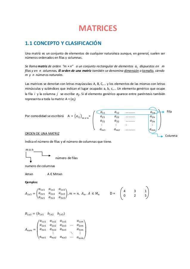 Definicion y clasificacion_de_matrices