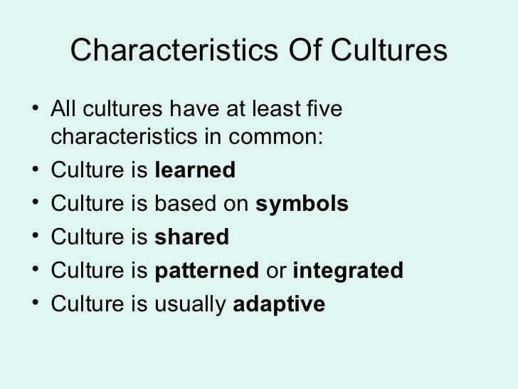 5 characteristics essay