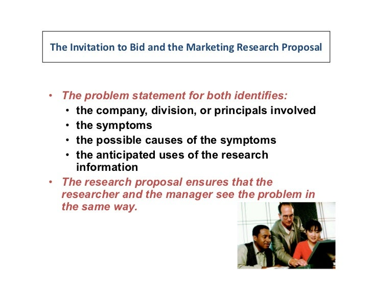 how to write a marketing research