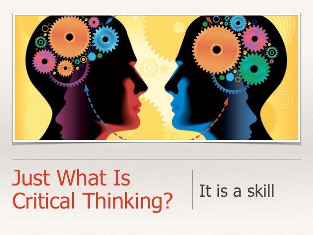 Critical Thinking Creative Thinking