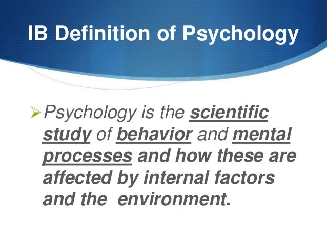 what is psychology essay