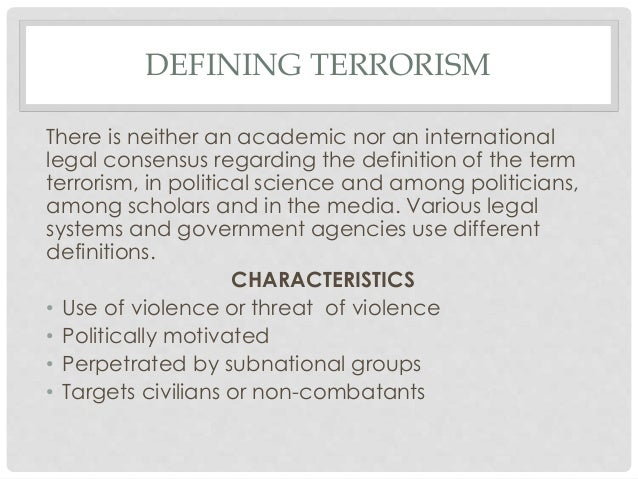 Defining Terrorism Essay In English Homework For You Defining Terrorism  Essay In English Image