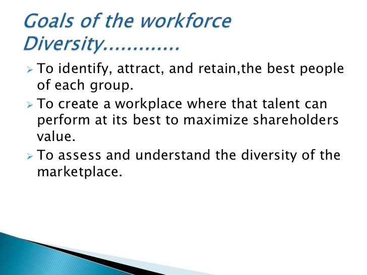 diversity in the workforce Diversity in the workplace is necessary to create a competitive economy in a globalized world as communities continue to grow, it's important to harness the talent of all americans businesses should continue to capitalize on the growth of women, people of color, and gay and transgender people in the labor force.