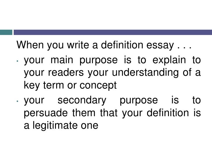 Buy definition essay