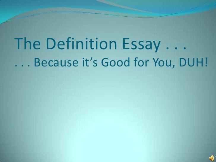 Privacy definition essay