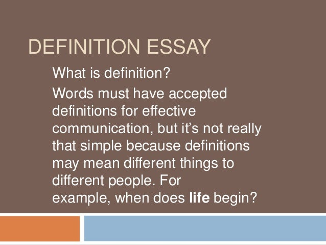 Its an essay... but its not really an essay?