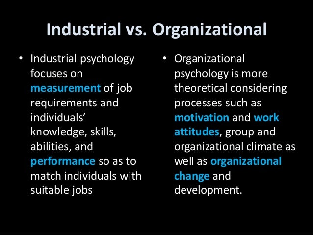 dissertation topic in industrial organizational psychology Florida tech's doctoral degree in industrial/organizational (i/o) psychology provides training and research opportunities in the complex issues introduces major topics in personnel psychology and psy 6492 advanced research seminar in industrial and organizational psychology.