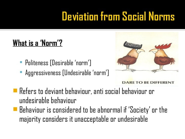 social norms expectation definition pdf