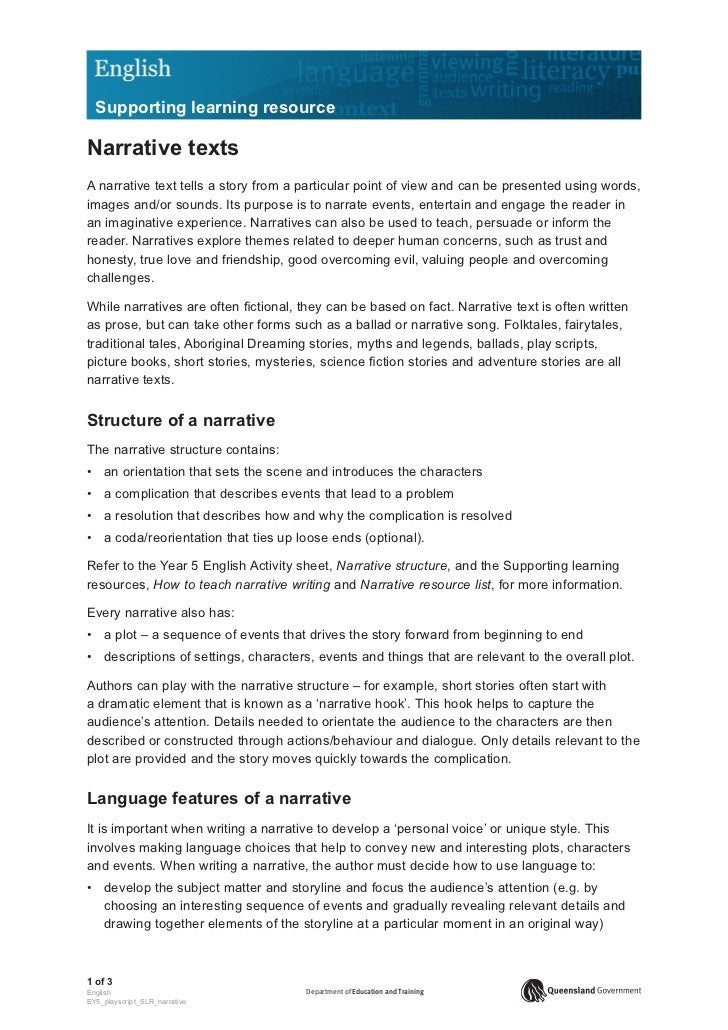 elements and features of descriptive essay