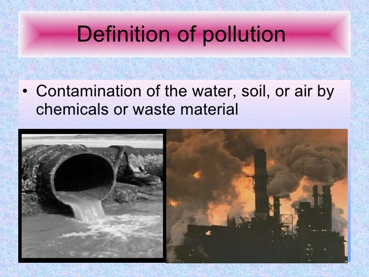Pollution and Environment  Protection
