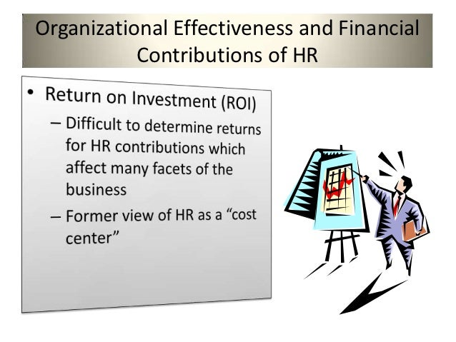 human resource the effectiveness and contribution Human resources home products and services aon's hr effectiveness experts help organizations optimize hr our goal is to help you achieve efficiency.