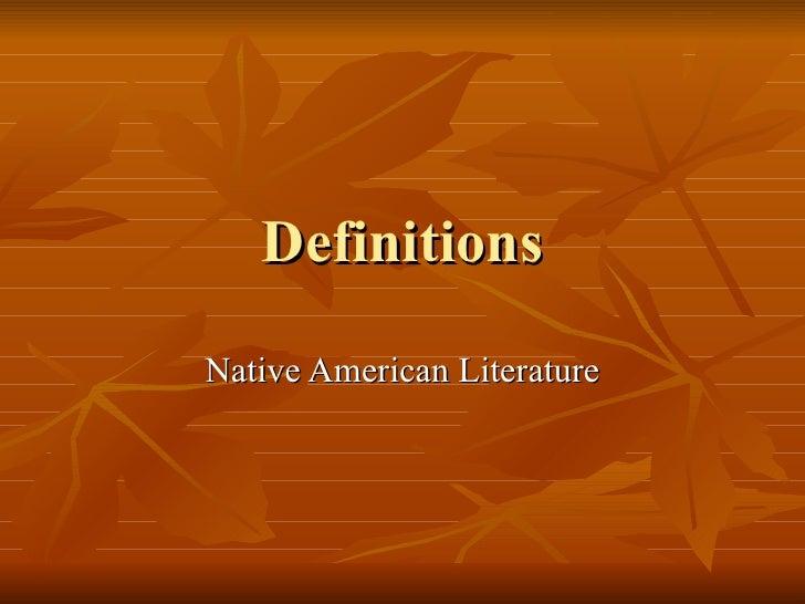 Definitions Myth Etc