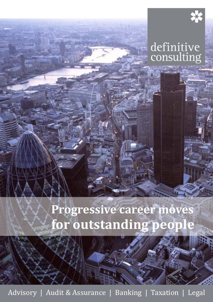 Definitive Consulting E Brochure
