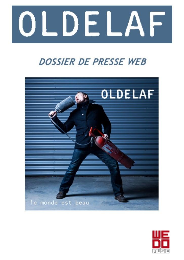 Dossier Presse WEB Oldelaf