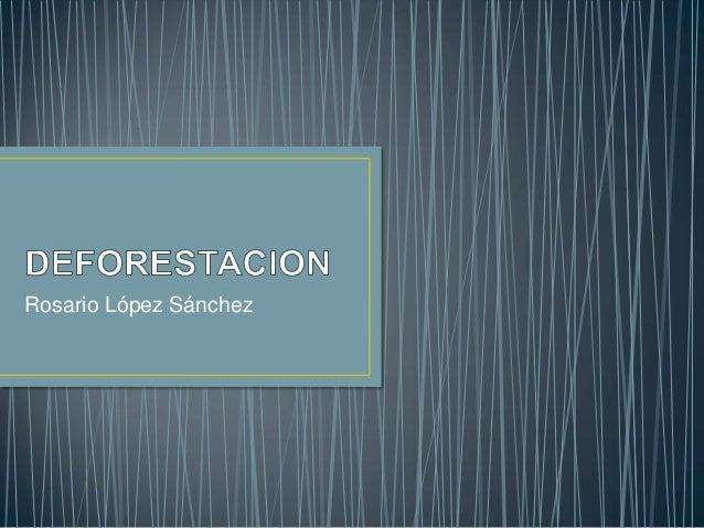 Rosario López Sánchez