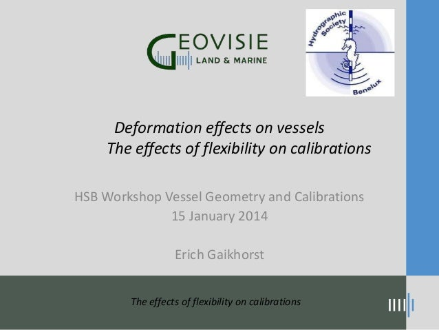 Deformation effects on vessels The effects of flexibility on calibrations HSB Workshop Vessel Geometry and Calibrations 15...